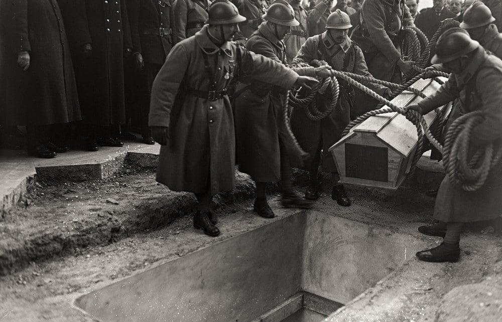 inhumation soldat inconnu